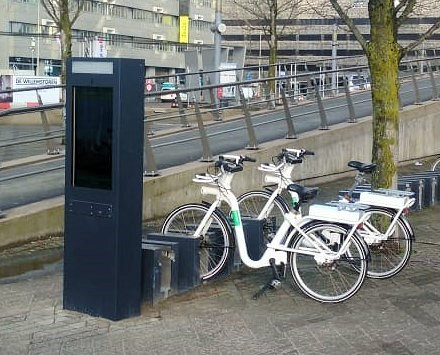 Interactive Kiosk for Bicycle Rental