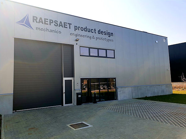 Raepsaet Product Design building